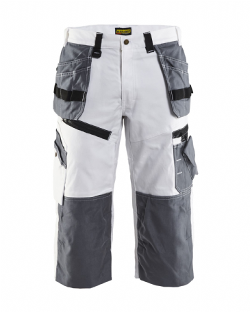 Blaklader 1511 X1500 Painters Pirate Trouser (White/Grey)